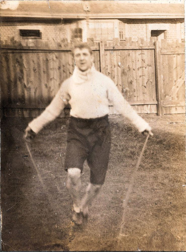 Jack Smith skipping